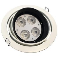 19.2-watt LED downlight - white, single-colour & colour-change options