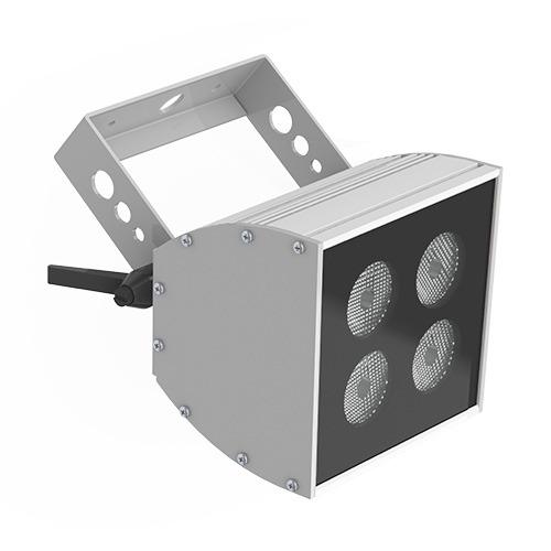 4-bulb LED wash light - white, single-colour & colour-change options