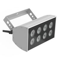 Mid-size LED wash light (8 bulbs, 38.4 watts)
