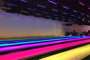 Mirage Mablethorpe uses LED lightbars for downlighting