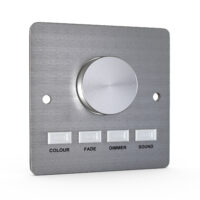 Button-Press DMX Control Panel (stainless steel build)