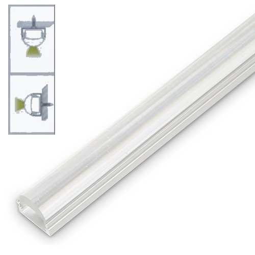 Optic Lens Extrusion For Led Tape