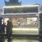 10W unbranded LEDs light this burger-van