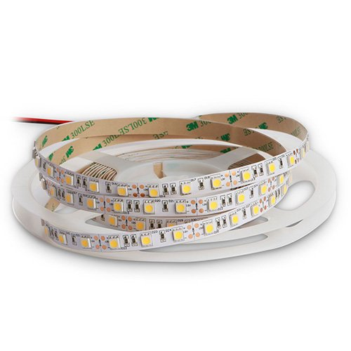 Unbranded 14.4 Watt 5050 SMD White LED Tape on a reel