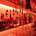 Bar with 15W amber LED highlights