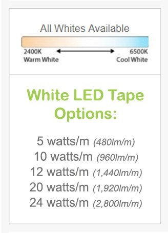 LED Tape | High-quality LED strip lights | Next-day delivery