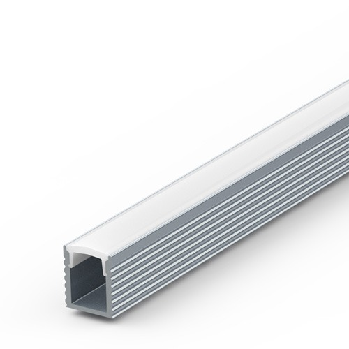 5mm deep surface aluminium extrusion for LED tapes