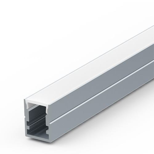 8mm deep surface aluminium extrusion for LED tapes