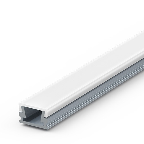 8mm thin surface aluminium extrusion for LED tapes