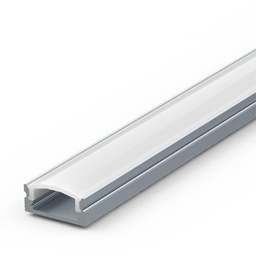 Thin surface aluminium profile for LED strip lighting