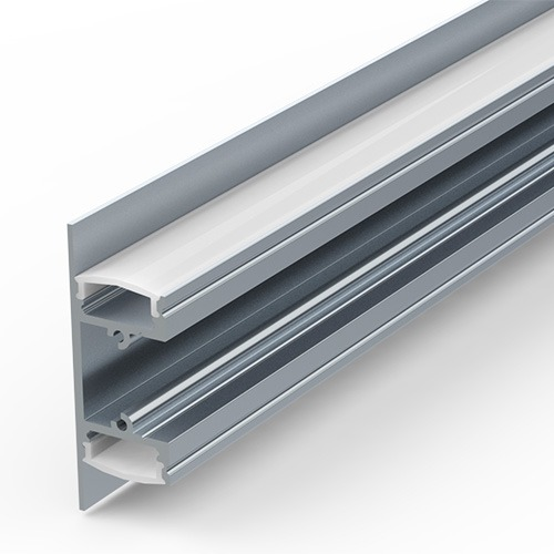 Up-Down Wall Extrusion for LED Strip Lights