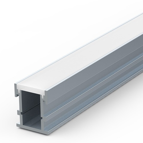 Walk Over extrusion for LED tapes