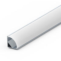Corner Extrusion for LEDs