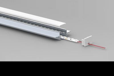 Flush Recess LED extrusion - split view