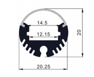 Circular Suspended LED Range - dimensions