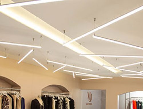 MJ Boutique, Burbage – lovely stylish lighting with InStyle LEDs