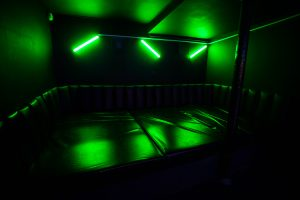 Get on down in the Boogie Basement with Suspended LEDs