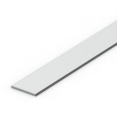 Flat based aluminium extrusion