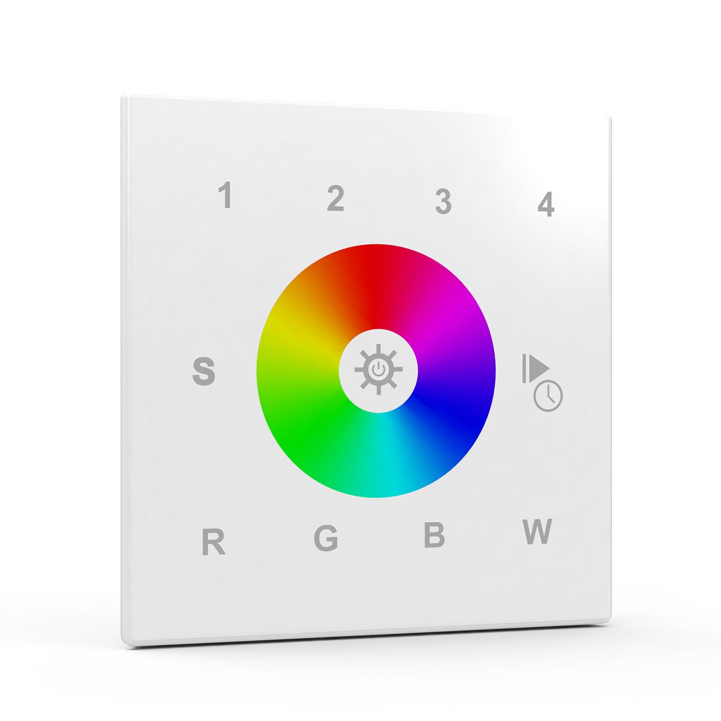Multizone ZigBee RGBW Wall Controller