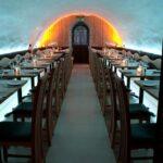 Restaurant - white LEDs