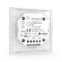 Multizone ZigBee touch controller for CCT LEDs - back view
